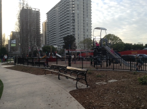 Photo of children's playground at Sue Bierman Park, San Francisco